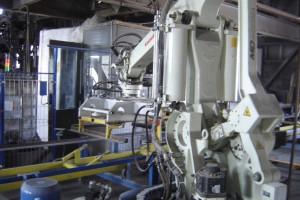 Linia do produkcji betonowych elementów wibro prasowanych